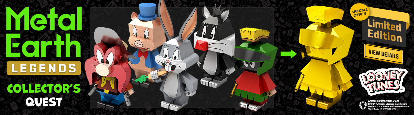 Metal Earth Looney Tunes Banner