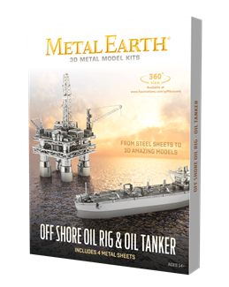 Picture of Offshore Oil Rig & Tanker Gift Set